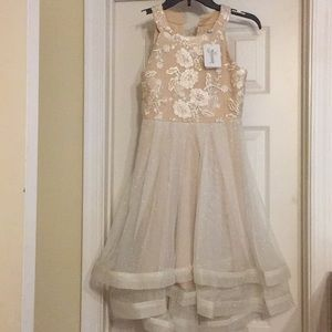 Speechless Kids Gold Gown - Size 12